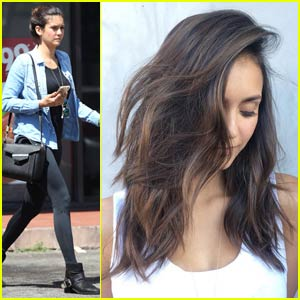 Nina Dobrev Shows Off Gorgeous New Haircut