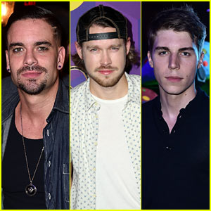 Chord Overstreet & Mark Salling Get 'Glee'ful in Wonderland!