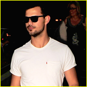 Taylor Lautner Hits The Greek Theater With Friends After Reuniting With Kristen Stewart