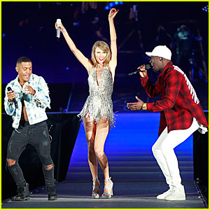 Taylor Swift Performs 'Am I Wrong'  With Nico & Vinz