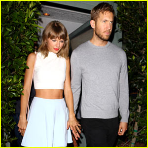 Taylor Swift Goes On Romantic Dinner Date with Calvin Harris!