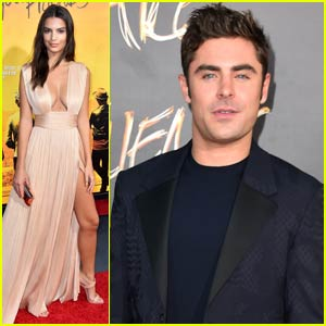 Zac Efron Suits Up for 'We Are Your Friends' Hollywood Premiere With Emily Ratajkowski