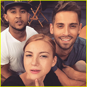 Allie Gonino Shares First Pic From Recurring Role On 'Baby Daddy'
