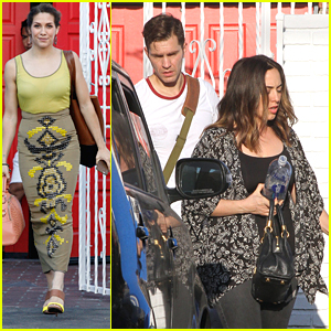Andy Grammer Gets Visit From Wife Aijia Lise At DWTS Studio