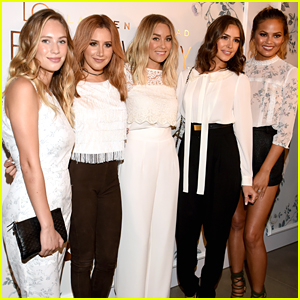 Lauren Conrad Debuts 'LC Lauren Conrad' At NYFW With Ashley Tisdale & Olivia Culpo