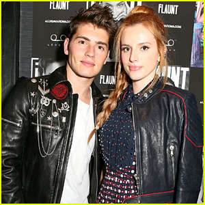 Bella Thorne & Gregg Sulkin Hit Up Flaunt's Party in London!