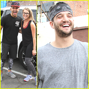 Mark Ballas Celebrates Derek Hough's Emmy Win After 'DWTS' Practice with Alexa PenaVega