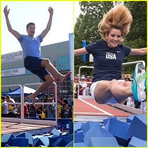 Charlie White & Tanith Belbin White Celebrate The Road To Rio With Nastia Liukin