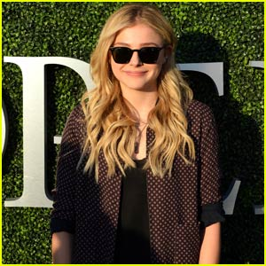 Chloe Moretz is Wowed By Fabio Fognini's Win at U.S. Open 2015