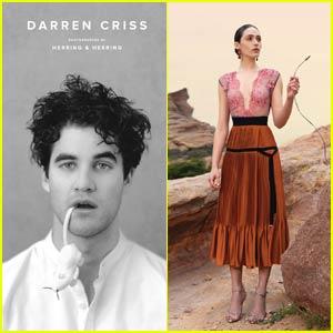 Darren Criss & Emmy Rossum Get Stylish for 'Herring & Herring' Magazine