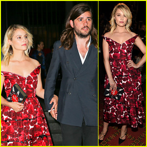 Dianna Agron Closes Out NYFW with Boyfriend Winston Marshall By Her Side!