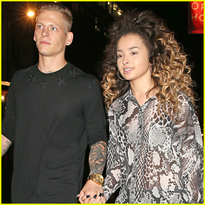 Ella Eyre & Rixton's Lewis Morgan Hold Hands After Team GB Ball