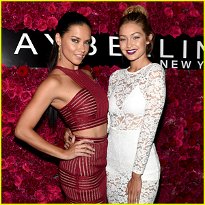 Gigi Hadid Meets Up with Model Adriana Lima During NYFW!