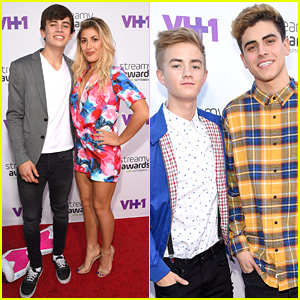Hayes Grier Brings Emma Slater To Streamys 2015 Where Cameron Dallas Wins Entertainer of the Year!