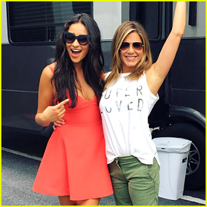 Shay Mitchell Shares 'Mother's Day' Wrap Photo with Jennifer Aniston!