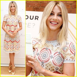 Julianne Hough Celebrates Hallmark's Signature Card Line At NYFW