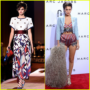 Kendall Jenner Walks Red Carpet Runway at Marc Jacobs Show with Bella Hadid!