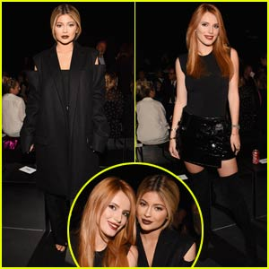 Kylie Jenner & Bella Thorne Pair Up for 'Vera Wang' NYFW Show!