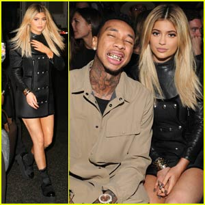 Kylie Jenner Sits Front Row at Alexander Wang Presentation With Boyfriend Tyga