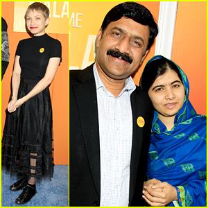 Malala Yousafzai & Father Zia Premiere 'He Named Me Malala' In NYC