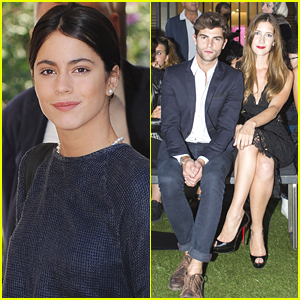 'Violetta' Stars Diego Dominguez & Clara Alonso Hit Up Milan Fashion Show After 'El Clan' Premiere in Venice