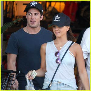 Photo of Michael Trevino & his friend celebrity  Alexandra Chando -