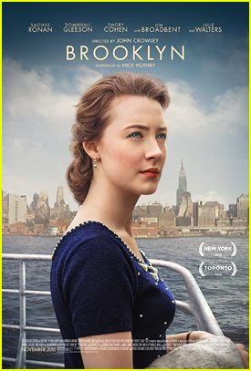 Saoirse Ronan Is Welcomed To New York On 'Brooklyn' Poster