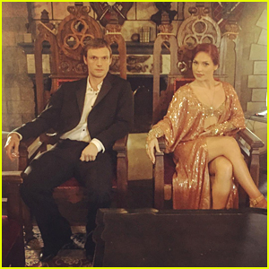 Sharna Burgess Teases 'Downton Abbey' Dance With Nick Carter
