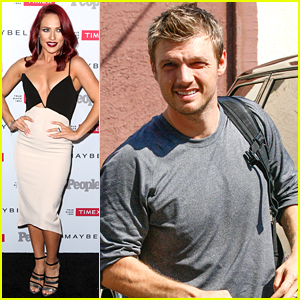 Sharna Burgess Parties at People's Ones To Watch Event After DWTS Practice with Nick Carter