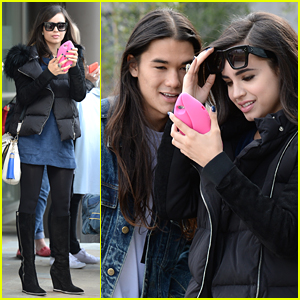 Sofia Carson & Booboo Stewart Bring 'Descendants' To London