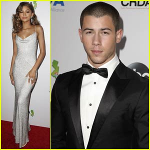 Zendaya & Nick Jonas Step Out for Miss America 2016 Competition in N.J.!
