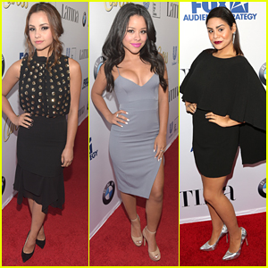Aimee Carrero & Cierra Ramirez Put The 'Hot' In Latina's 'Hot List' Party