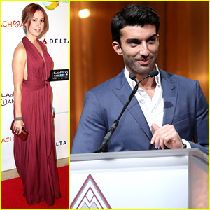 Jane The Virgin's Justin Baldoni Honors Ashley Tisdale At CoachArt's Gala of Champions