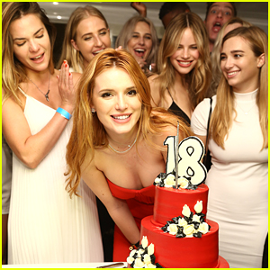 Bella Thorne Celebrates 18th Birthday With Six Flags Private Tour With Friends - See The Pics!
