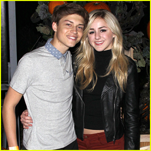 Chloe Lukasiak & Ricky Garcia Couple Up For Rise Of The Jack O' Lanterns Event