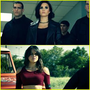 Demi Lovato Kicks Butt With Michelle Rodriguez In 'Confident' Video - Watch Here!