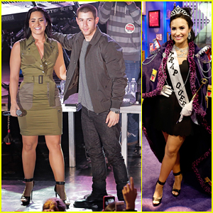 Demi Lovato & Nick Jonas Kick Off 'Future Now' Tour In NYC!