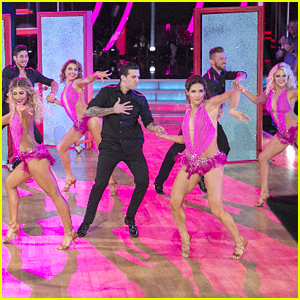 Alexa PenaVega Gives DWTS Troupe Some Love; Watch The Opening Number Here!