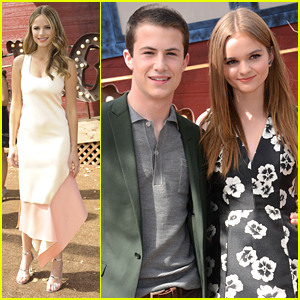 Dylan Minnette & Kerris Dorsey Couple Up For 'Goosebumps' Premiere