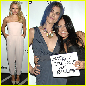 Emily Osment Steps Out For Boo2Bullying Event With Cassie Scerbo