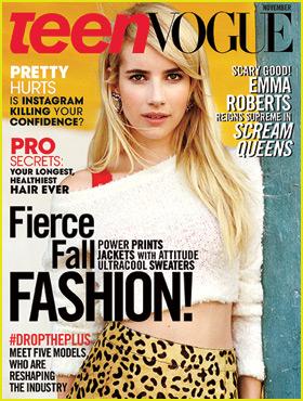 Emma Roberts Talks Friendships & 'Scream Queens' for 'Teen Vogue' November 2015