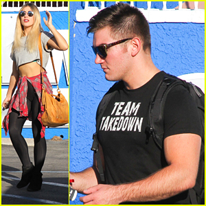 Emma Slater & Alek Skarlatos Already Have A Team Name For DWTS Switch Up Week