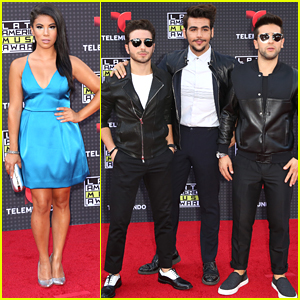 Chrissie Fit & Il Volo Step Out For First Ever Latin American Music Awards