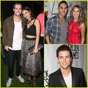 Big Time Rush Reunite For James Maslow's 'Sherlock Holmes' Opening Night