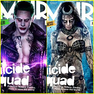 Cara Delevingne's 'Suicide Squad' Enchantress Looks So Spooky!