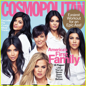 Kendall & Kylie Jenner Cover 'Cosmopolitan' with Sisters!