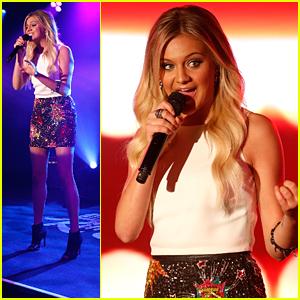 Kelsea Ballerini Calls 'Dibs' On Jimmy Kimmel Live - See Her Debut Late Night Performances Here!