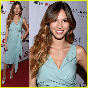 Kelsey Chow Meets Up With James Hong At Asian World Film Festival 2015