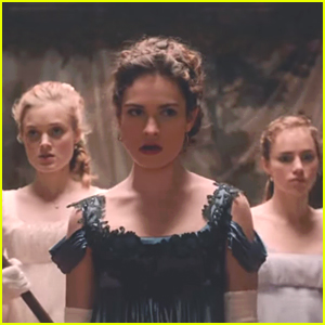Lily James Has The Ultimate Girl Squad In 'Pride & Prejudice & Zombies' Trailer - Watch Here!