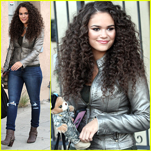 Madison Pettis Revs Up Her Curls For The Boot Campaign Shoot